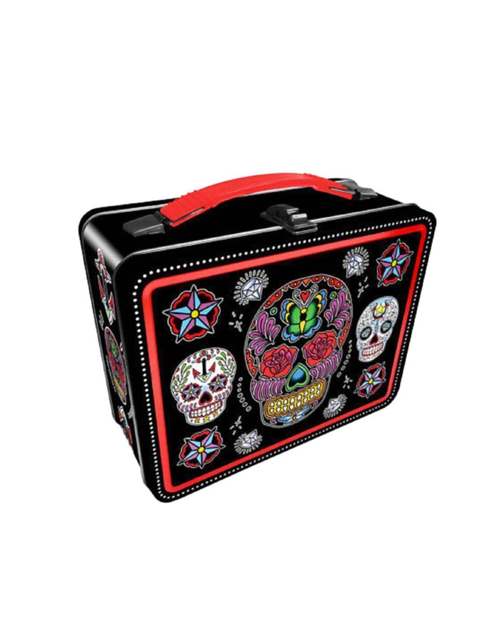 Sugar Skulls ( Metal Lunch Box )