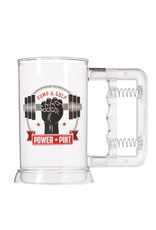 Power Pint ( Beer Buck ) Beverage Workout System