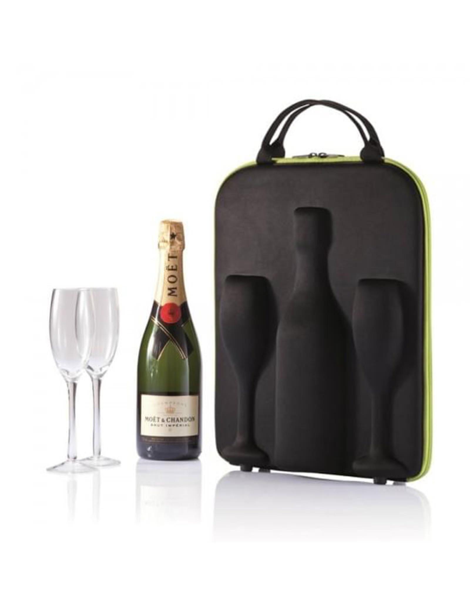 Champagne Transport Bag ( Including 2 Glass )