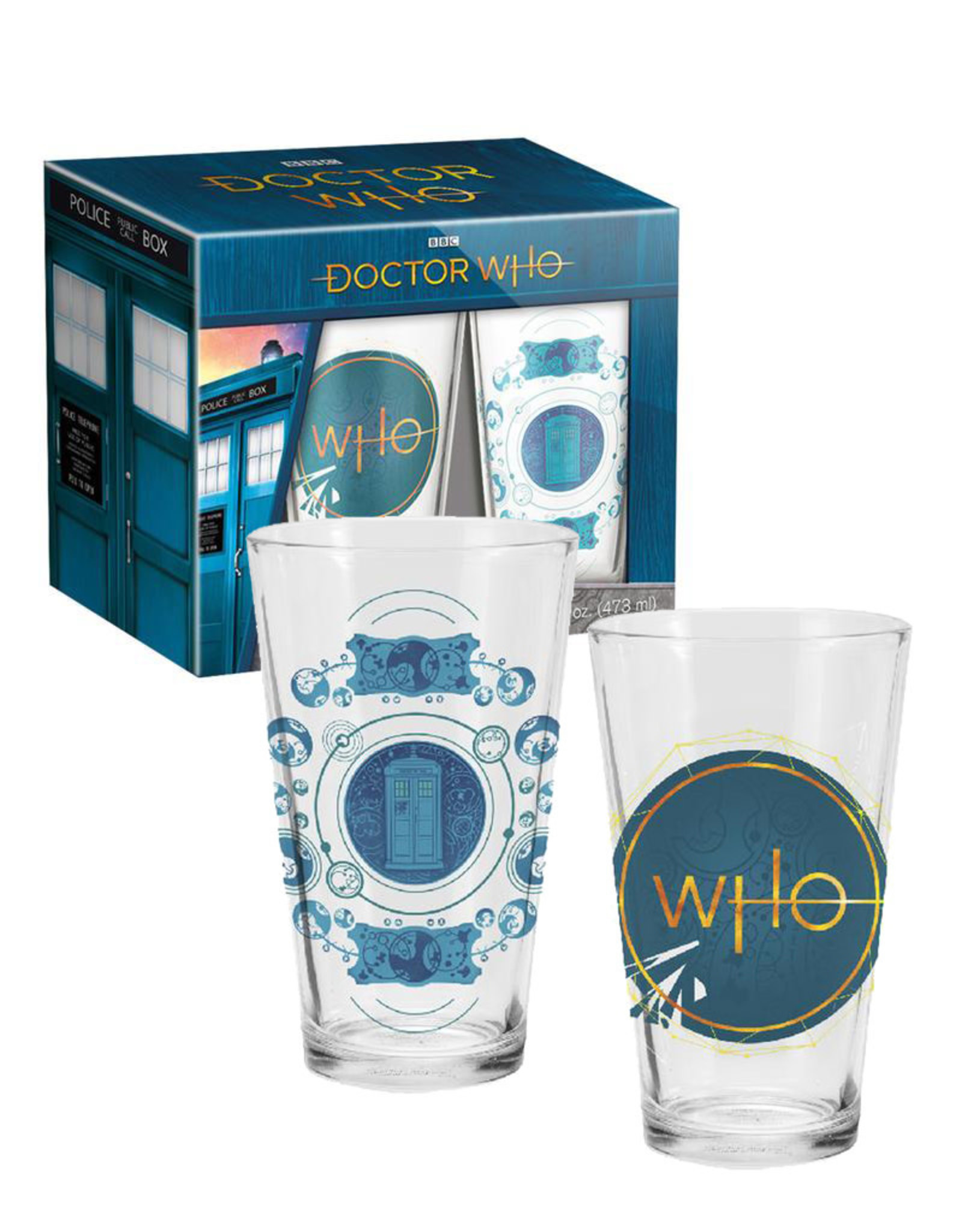 Doctor Who ( Set of Two Glasses )