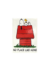 Charlie Brown ( Magnet ) Snoopy No Place Like Home