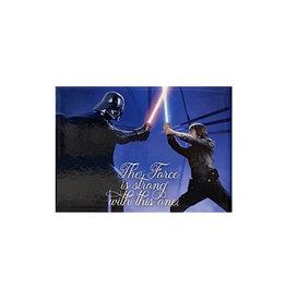 Star Wars Star Wars ( Magnet ) Luke Fight