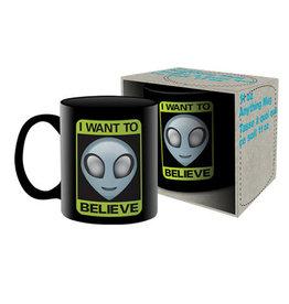 Aliens ( Mug ) I Want to believe