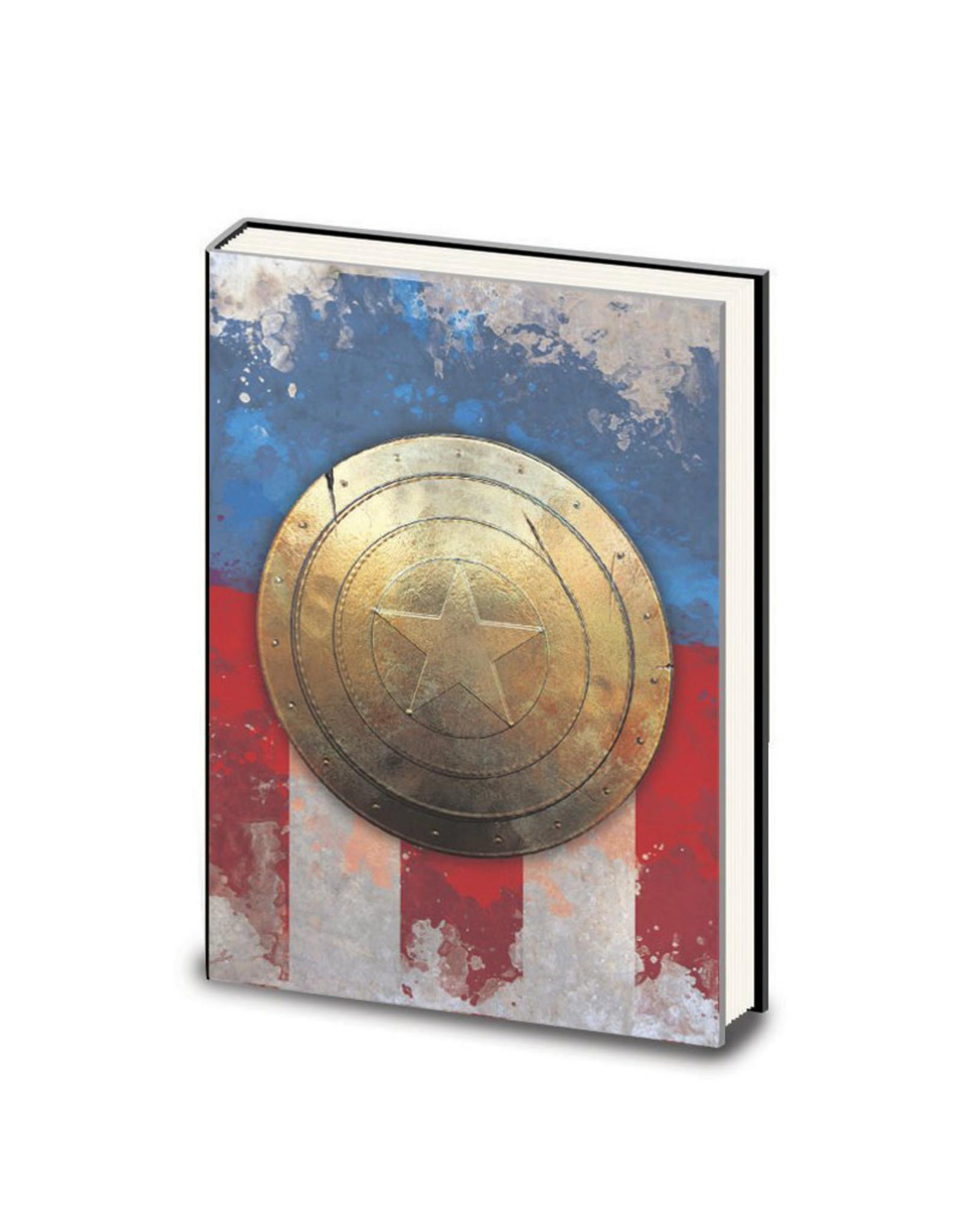 Marvel ( Cahier d'écriture ) Capitaine America