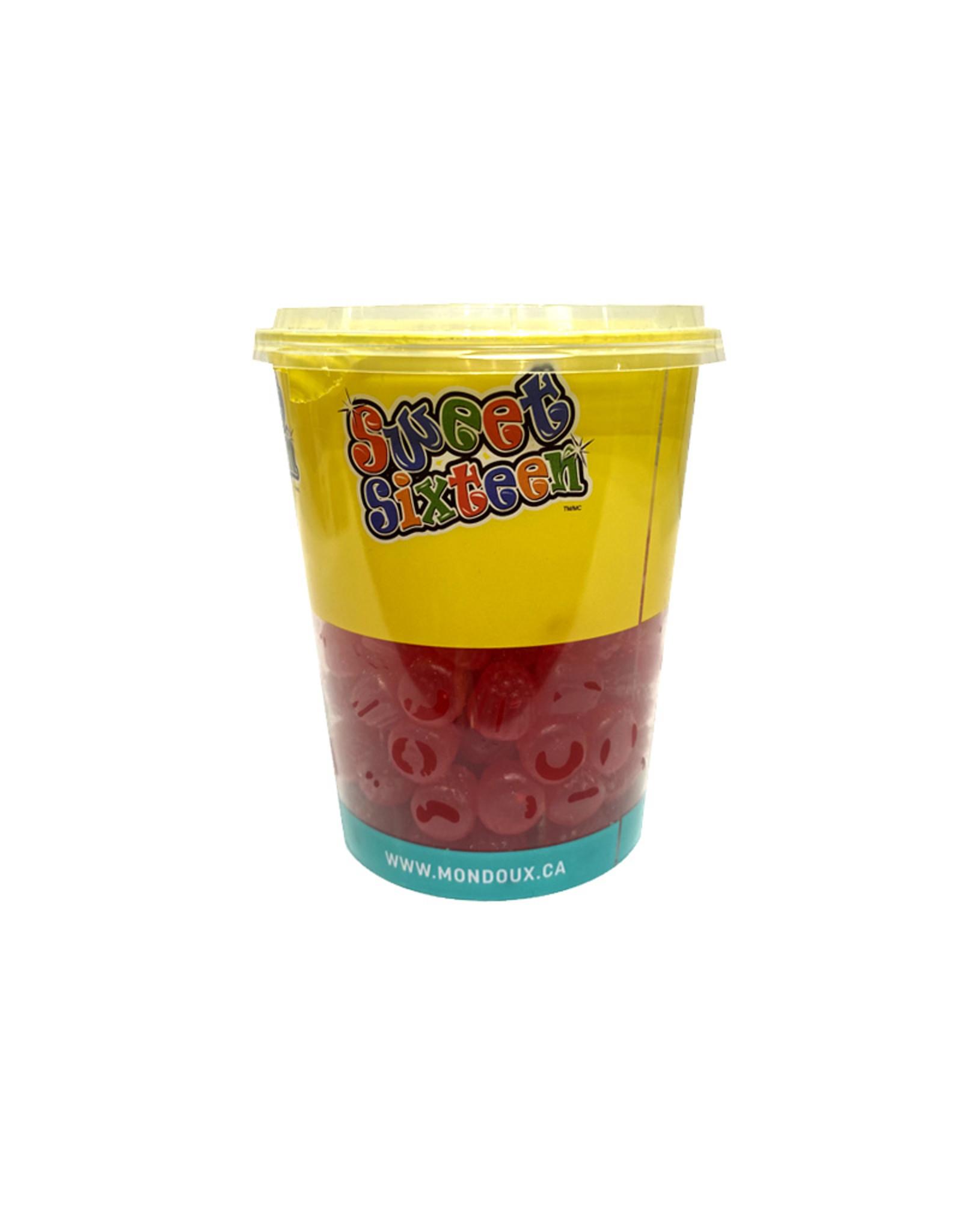 Sweet sixteen ( Gobelet ) Red Rasberries