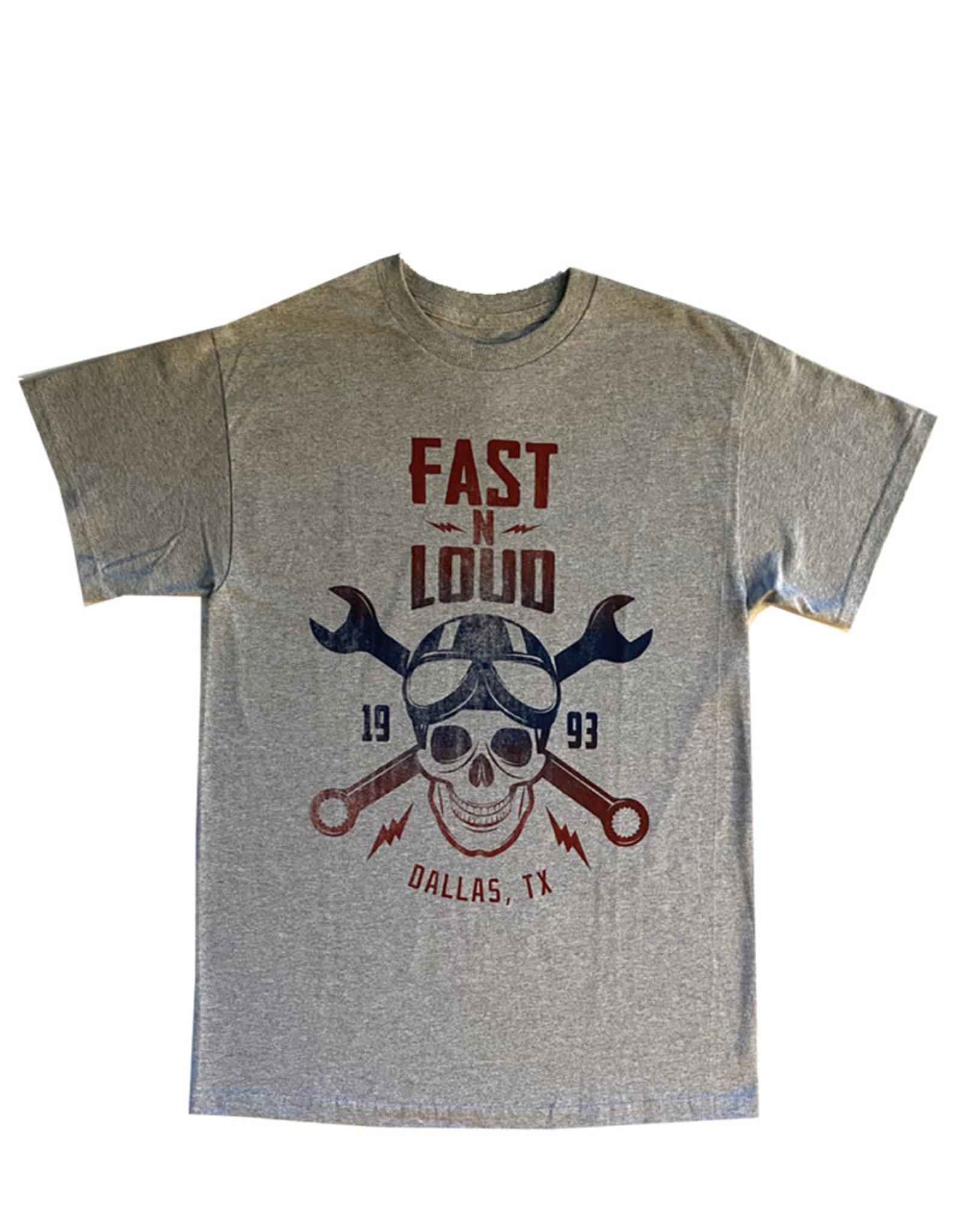 Fast n loud ( T-shirt ) Skull