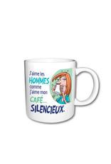 I love men like I love my coffee ( Mug )