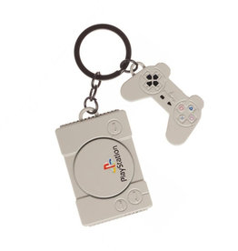 Play Station Playstation ( Keychain )  Game Console