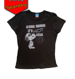 Snoopy ( T-Shirt ) Global Warning