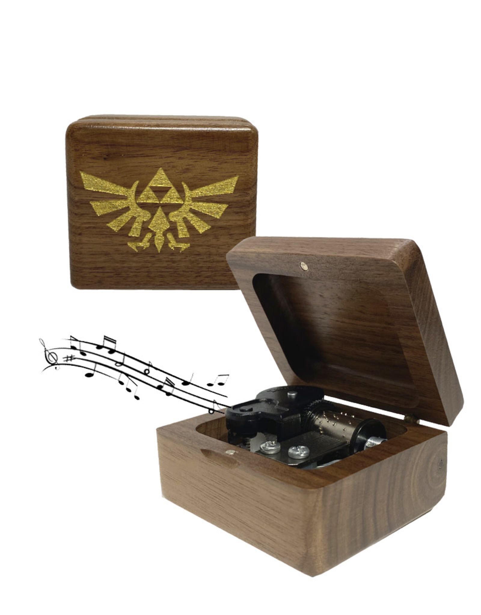 Zelda ( Mechanical Music Box ) Logo