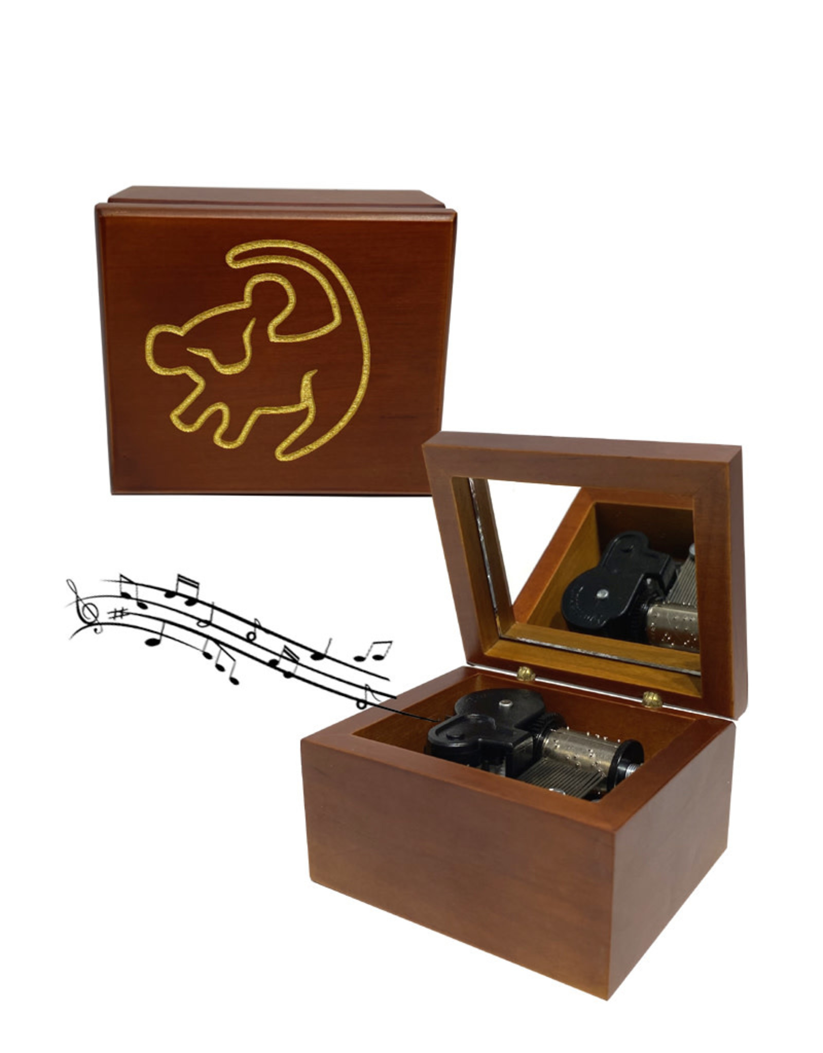 Disney ( Mechanical Music Box ) The Lion King