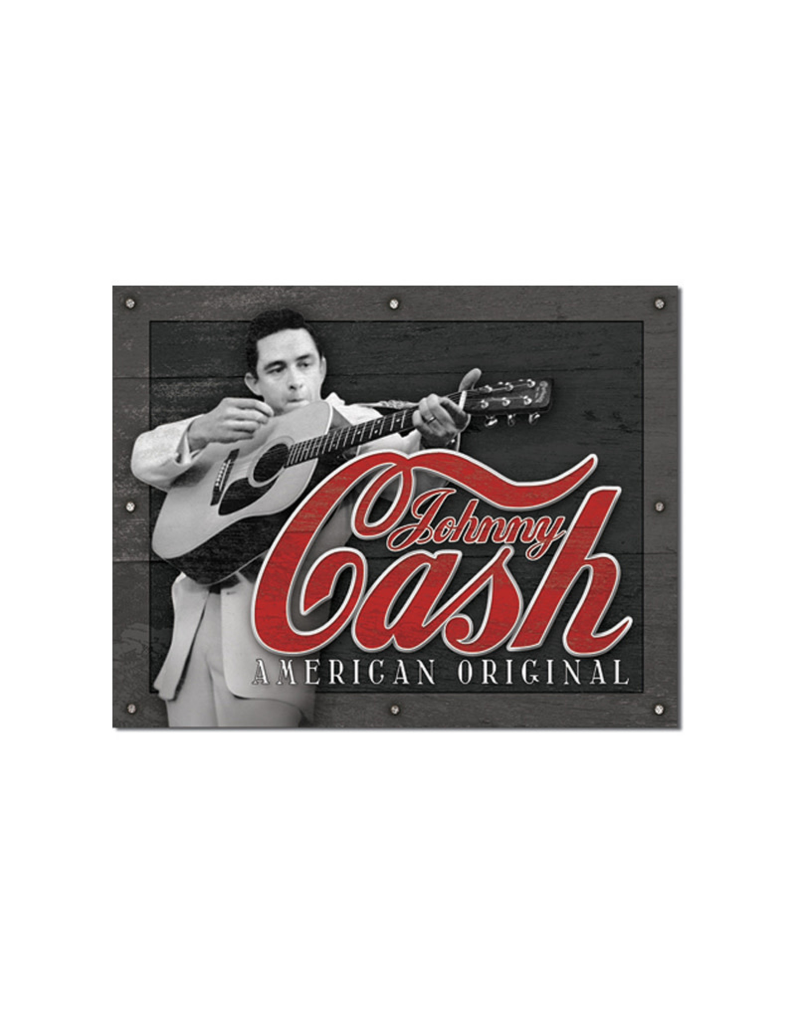 Johnny Cash ( Metal Sign 12.5 X 16 )
