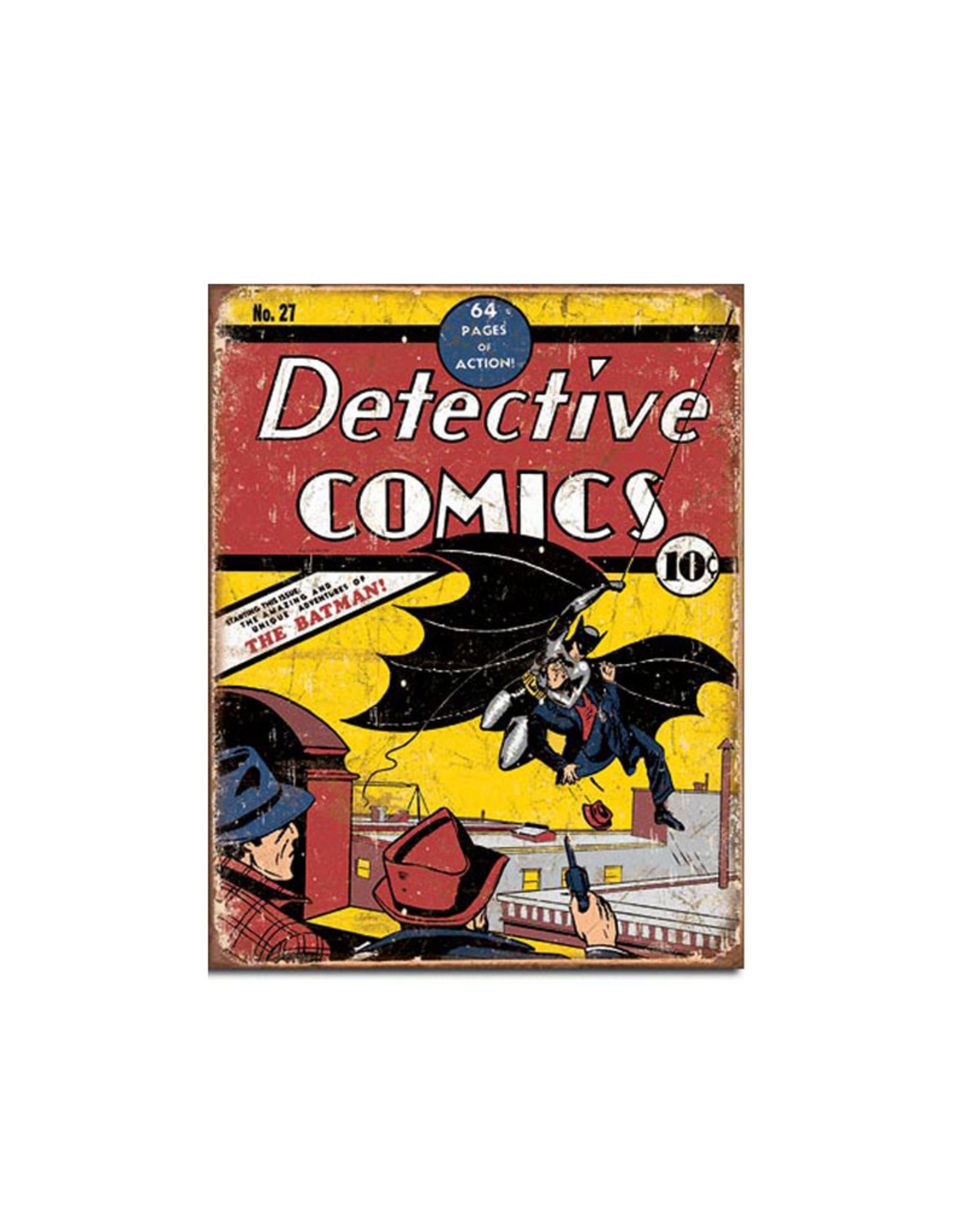Dc comics Dc Comics ( Metal Sign 12.5 X 16 ) Batman Detective Comics
