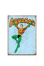 Dc comics Dc Comics ( Metal Sign 12.5 X 16 ) Aquaman Retro