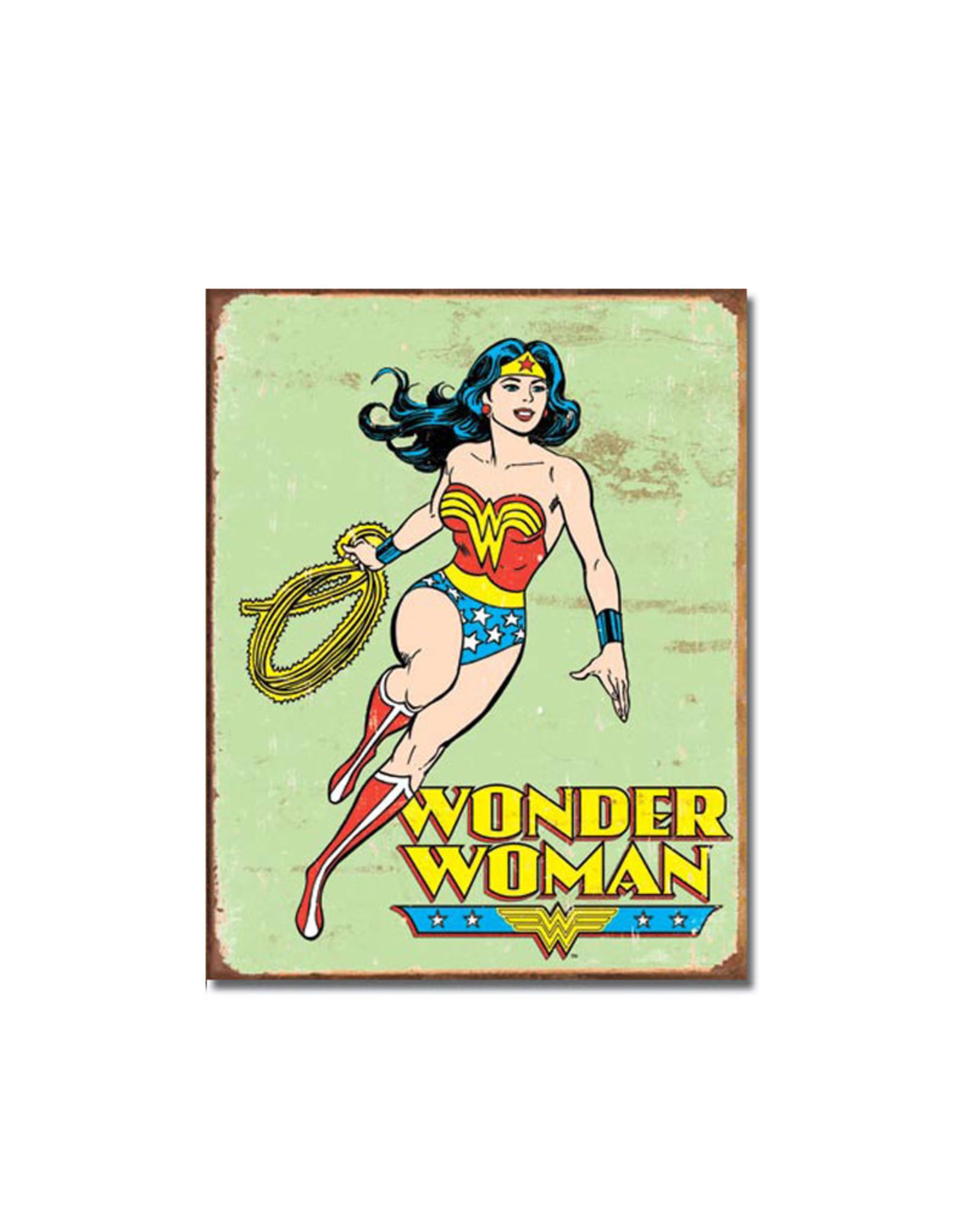 Dc comics Dc Comics ( Metal Sign 12.5 X 16 ) Wonder Woman Retro