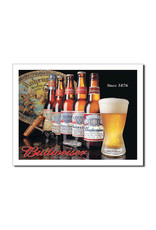 Budweiser ( Metal Sign 12.5 X 16 ) Since 1876