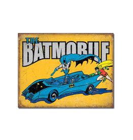 Dc comics Dc Comics ( Metal Sign 12.5 X 16 ) The Batmobile