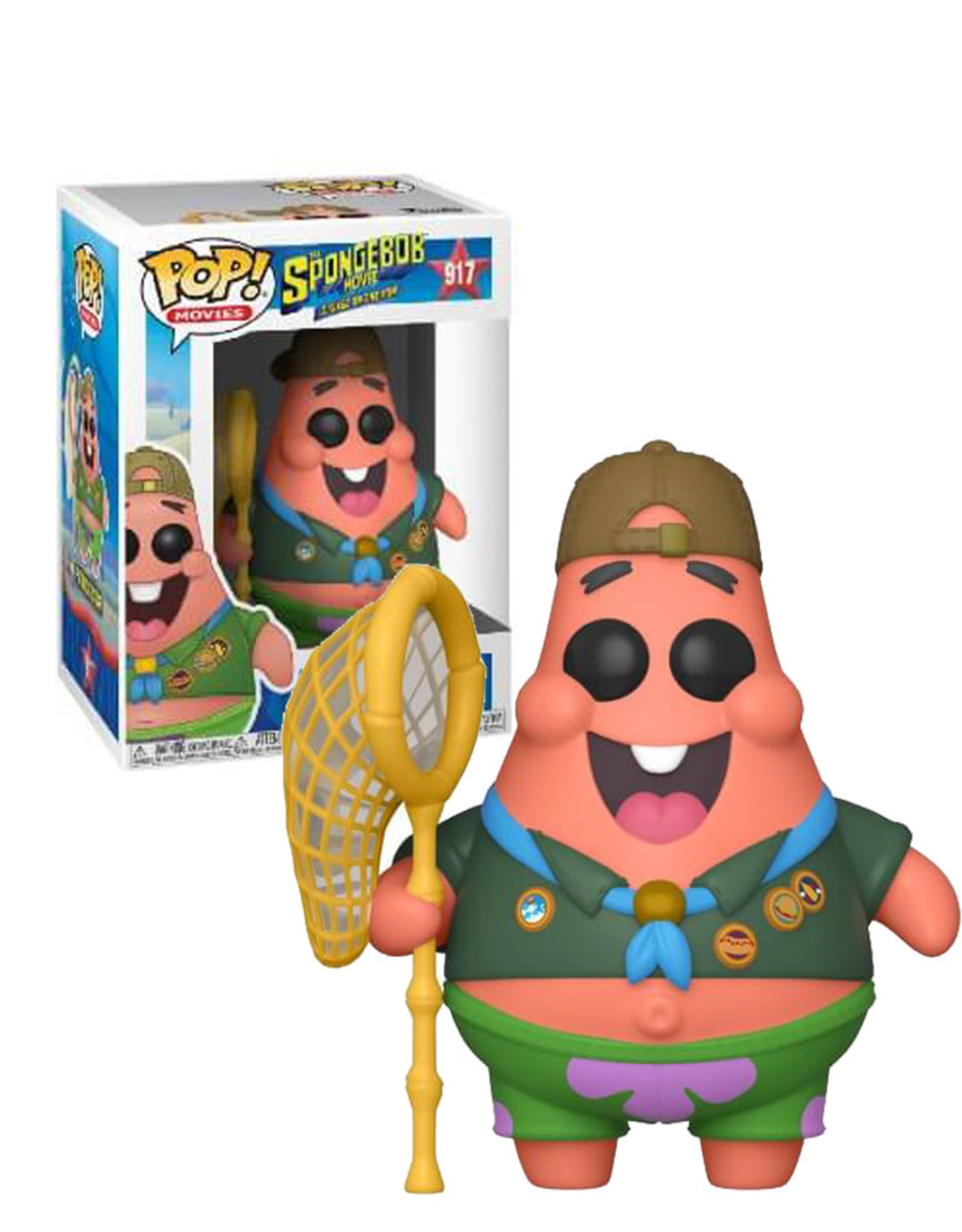 Patrick Star 917 ( Funko Pop ) The Spongebob Movie
