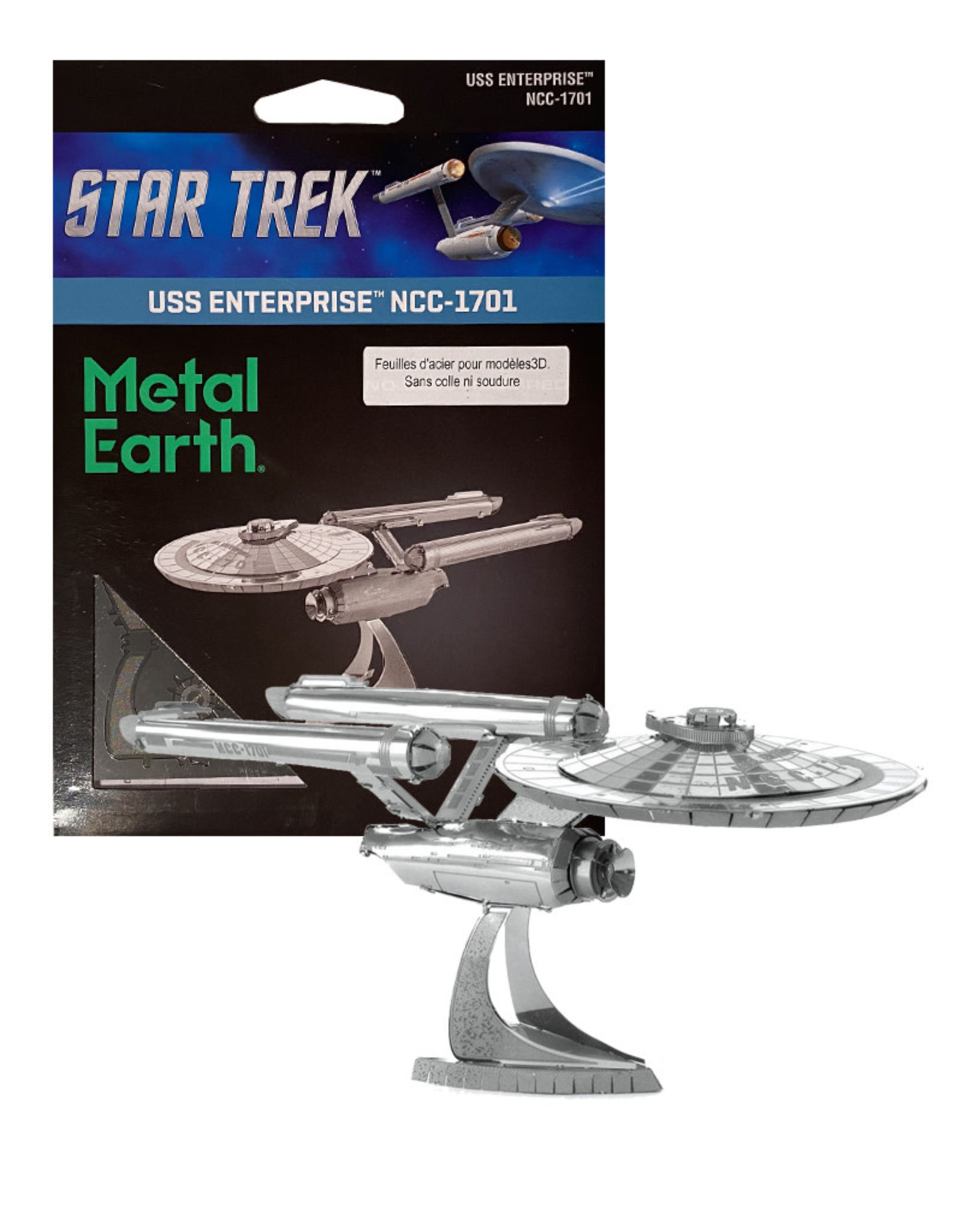 Star Trek ( Metal Earth ) USS Enterprise NCC-1701