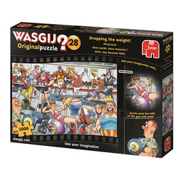 Wasgij? 28 ( Puzzle 1000 pcs ) Dropping the Weight !