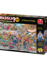 Wasgij? 34 ( Puzzle 1000 pcs ) A Piece of Pride !