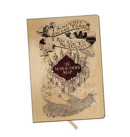 Harry Potter Harry Potter ( Notebook ) The Marauder's Map