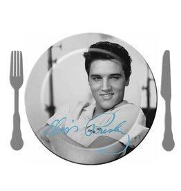 Elvis Elvis ( Ensemble de 4 Assiettes en Mélamine )