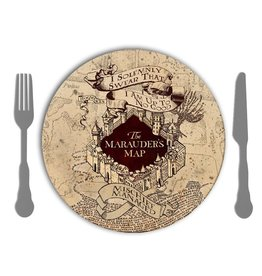 Harry Potter Harry Potter ( Set of 4 Melamine Plates ) The Marauder's Map