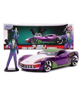 Joker ( Voiture de collection en métal  1:24 ) Corvette Stingray 2009