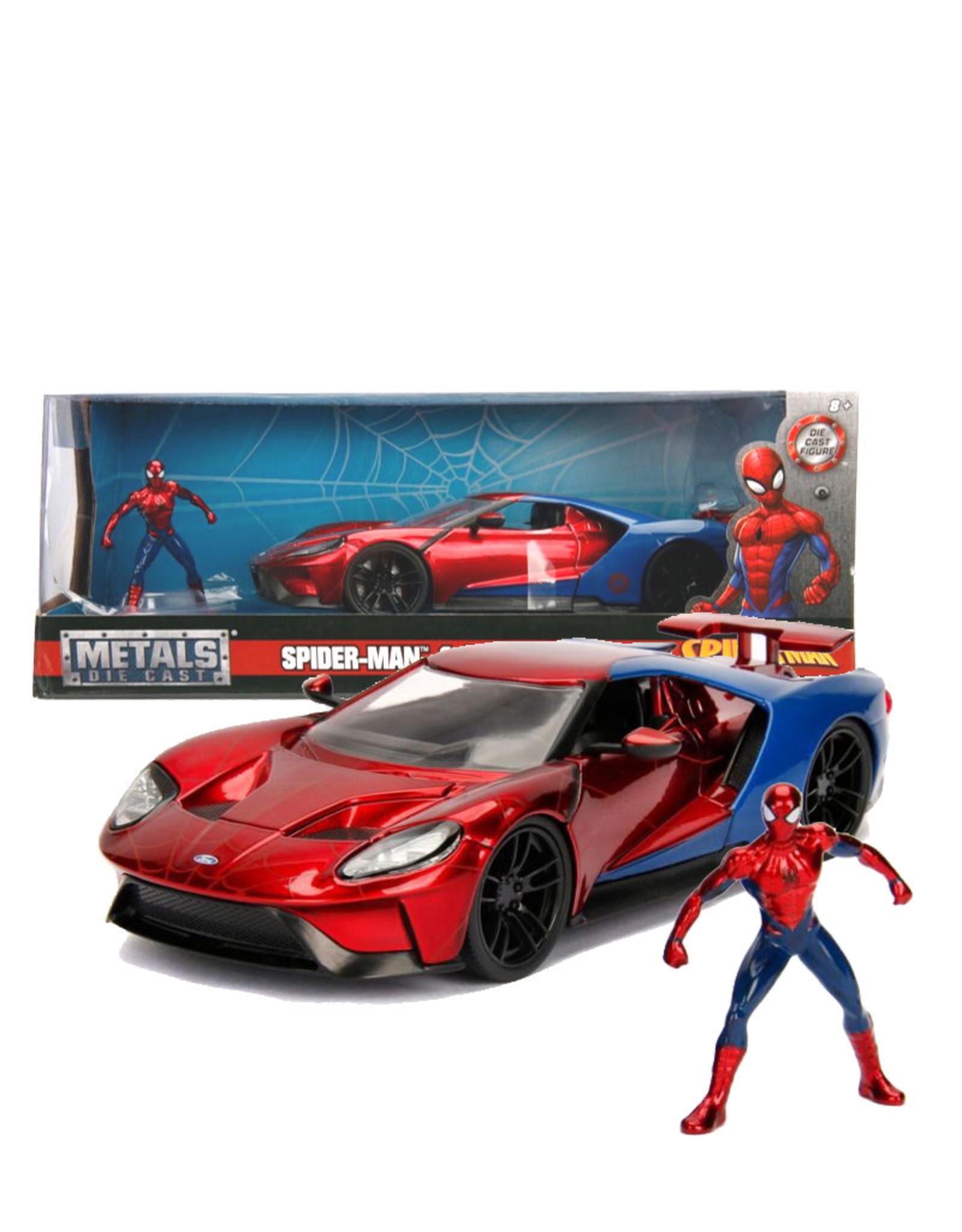 Spider-man ( Die Cast 1:24 ) Ford GT