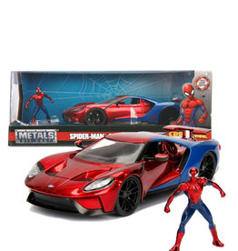 Spider-man ( Die Cast 1:24 ) Ford GT