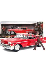 Freddy Krueger ( Die Cast 1:24 ) Cadillac Serie 1958
