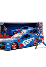 Captain America ( Die Cast 1:24 ) Ford Mustang 2006