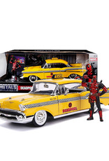Deadpool ( Voiture de collection en métal 1:24 ) Chevy Belair 1957