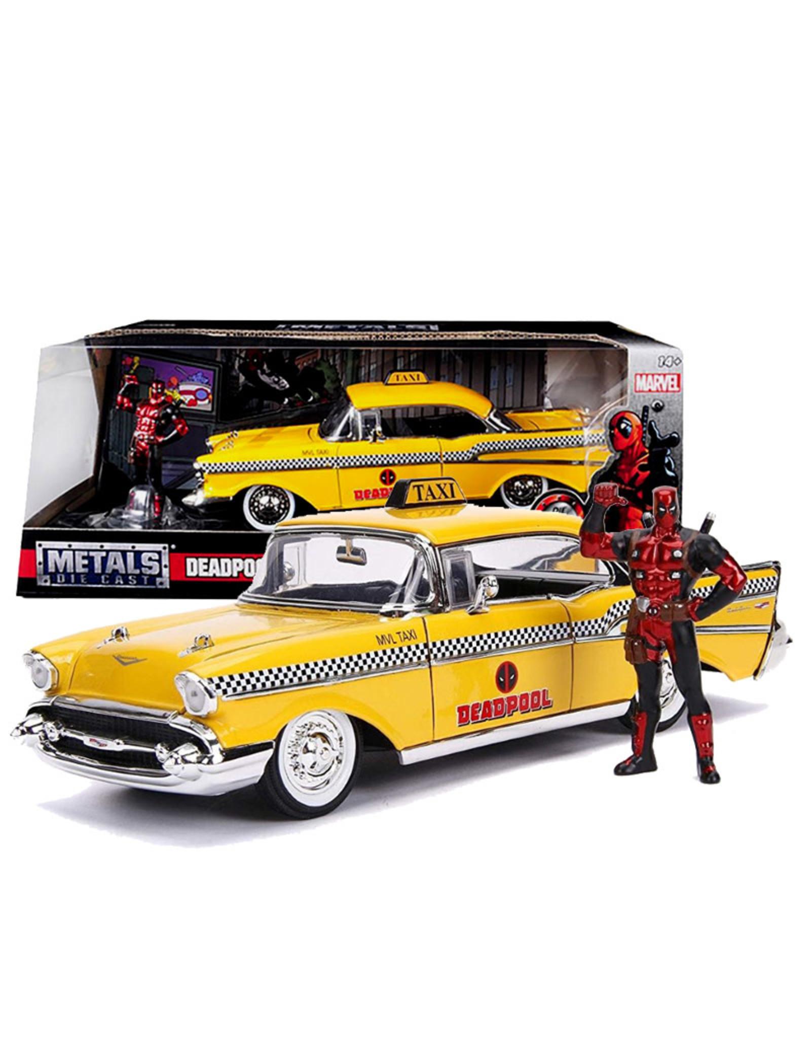 Deadpool ( Die Cast 1:24 ) Chevy Belair 1957