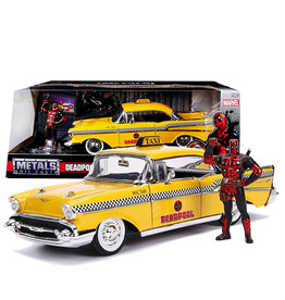 Deadpool ( Die Cast 1:24 ) Chevy Belair 1957