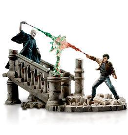 Harry Potter Harry Potter ( Diorama Lumineux ) Combat Voldemort
