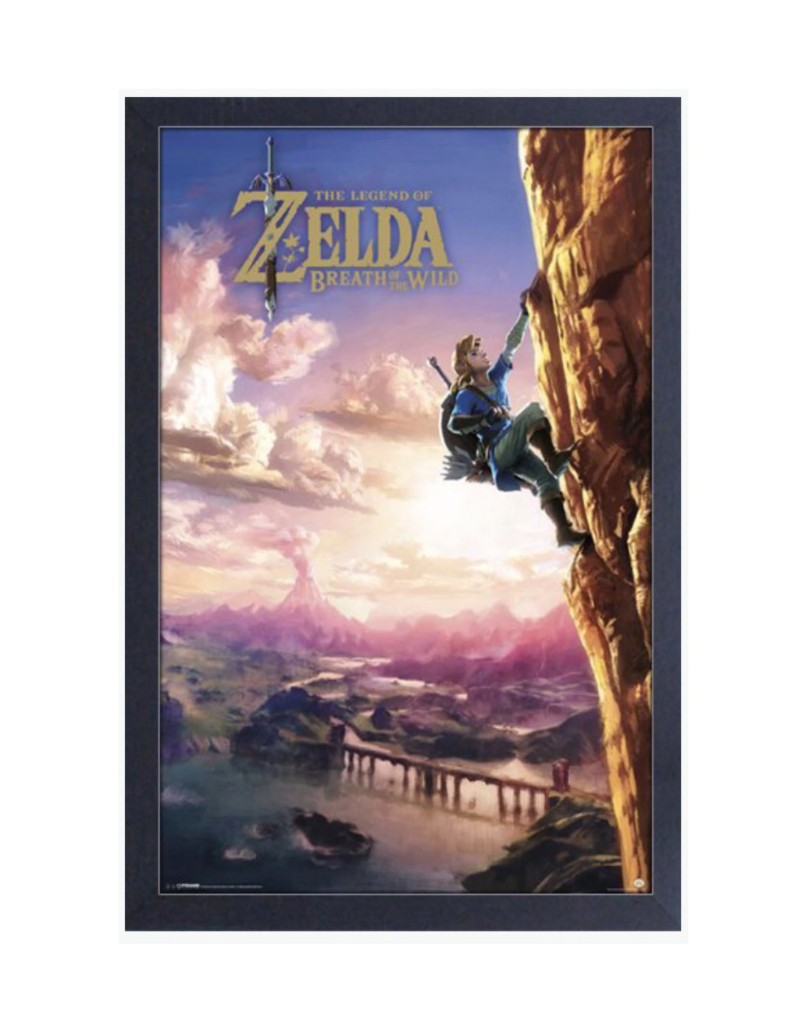 Zelda Zelda ( Framed print ) Climbing