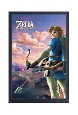 Zelda ( Framed print ) Hyrule Scene