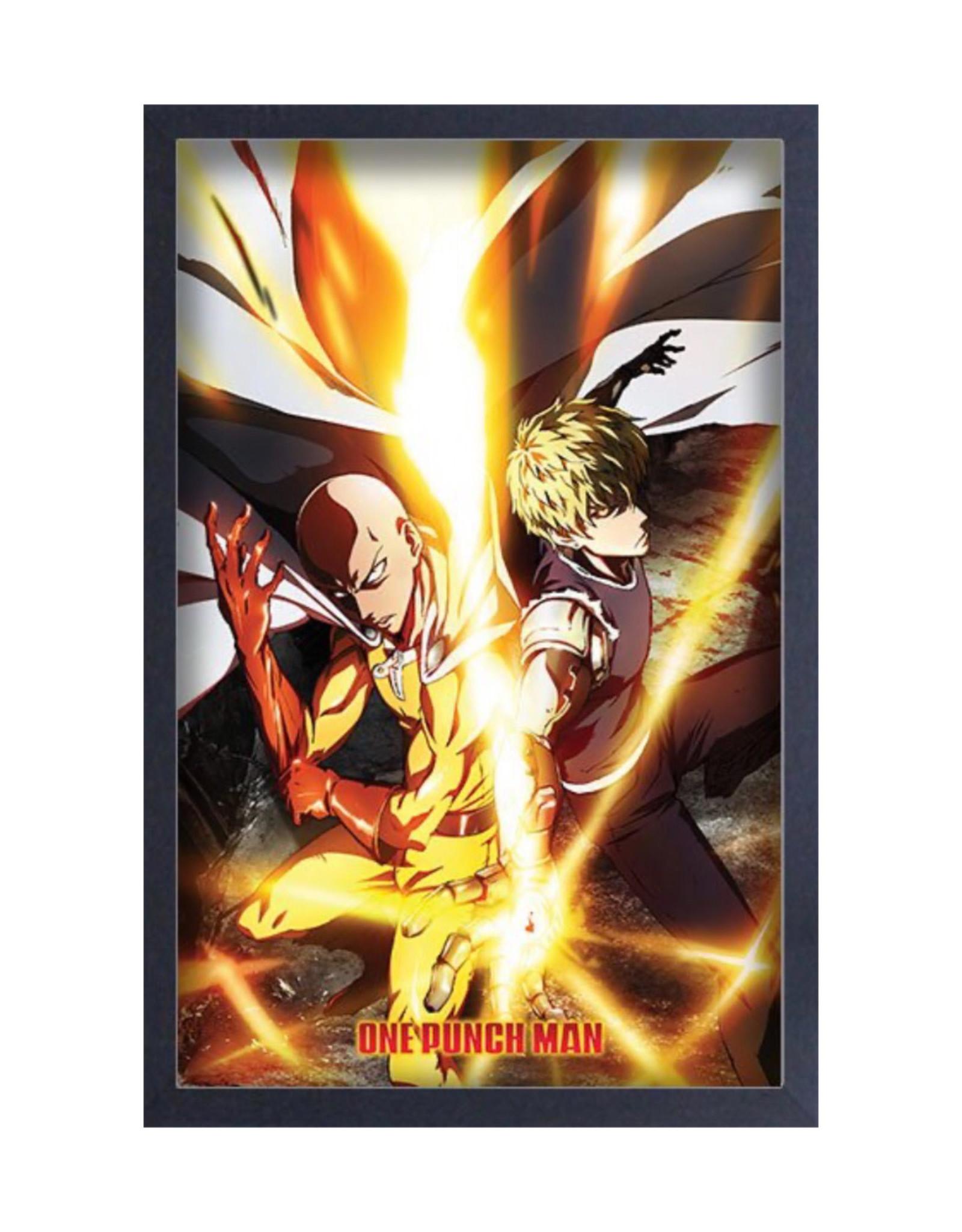 One Punch Man ( Framed print ) Fire