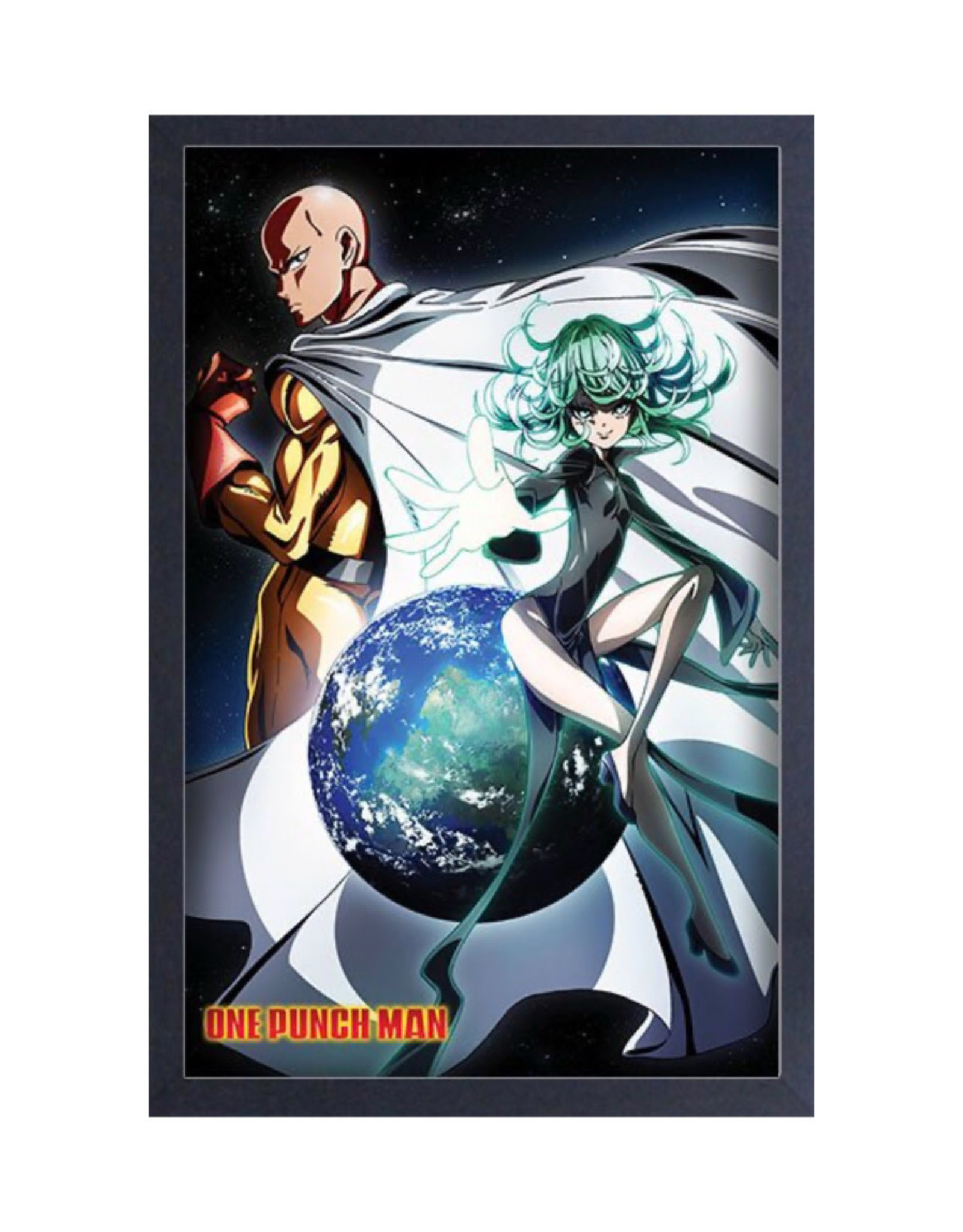 One Punch Man ( Framed print) Earth