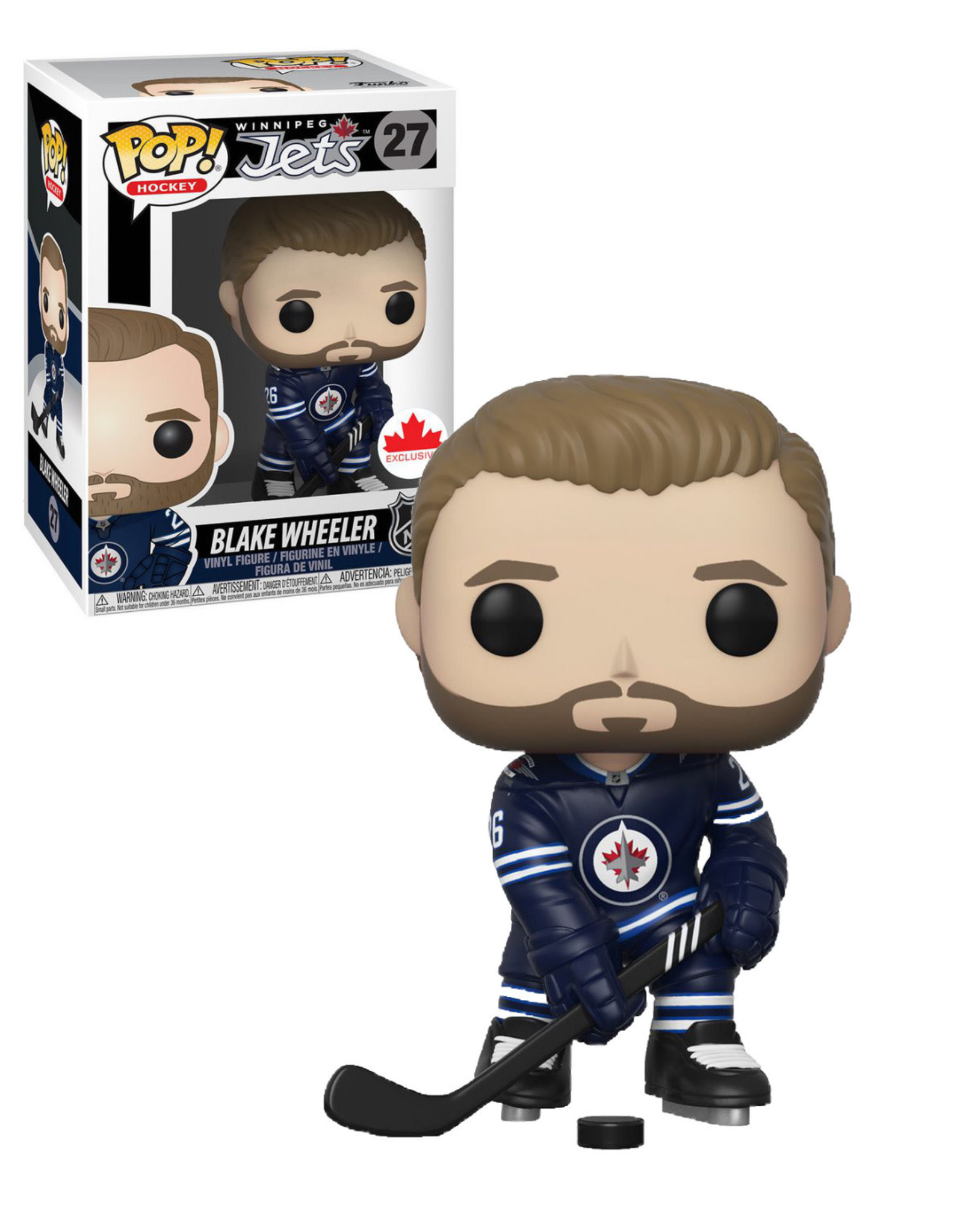 NHL 27 Jets Winnipeg ( Funko Pop ) Blake Wheeler