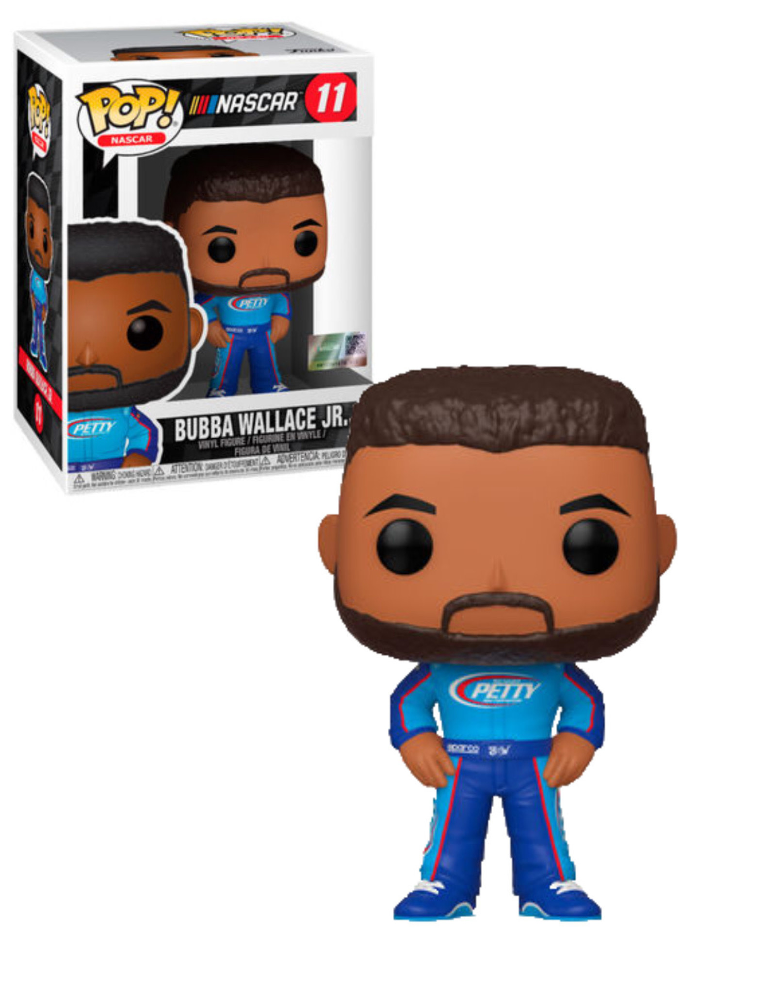 Nascar 11 ( Funko Pop ) Bubba Wallace JR.