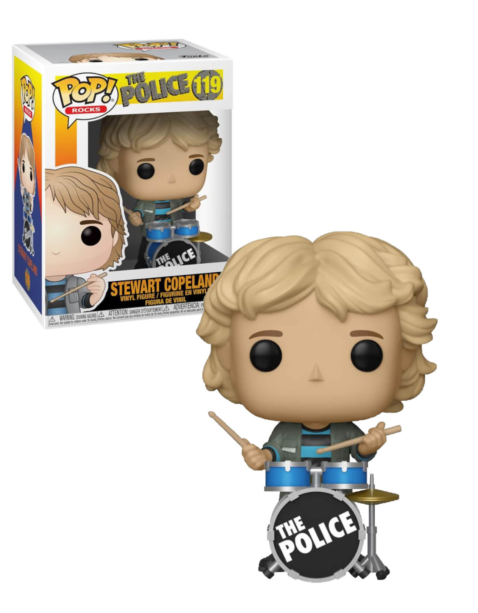 The Police 119 ( Funko Pop ) Stewart Copeland