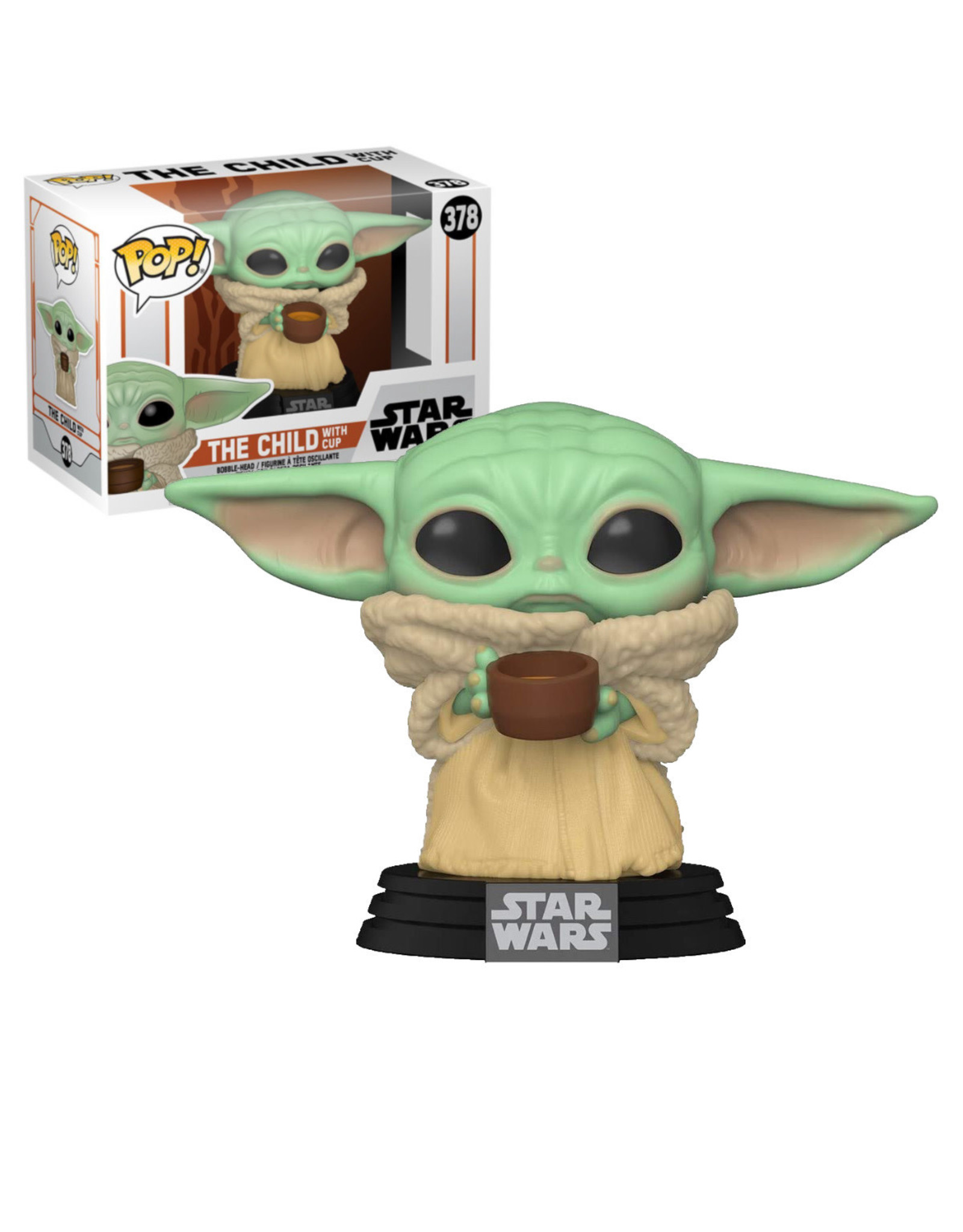 Star Wars Star Wars 378 ( Funko Pop ) The Child with cup