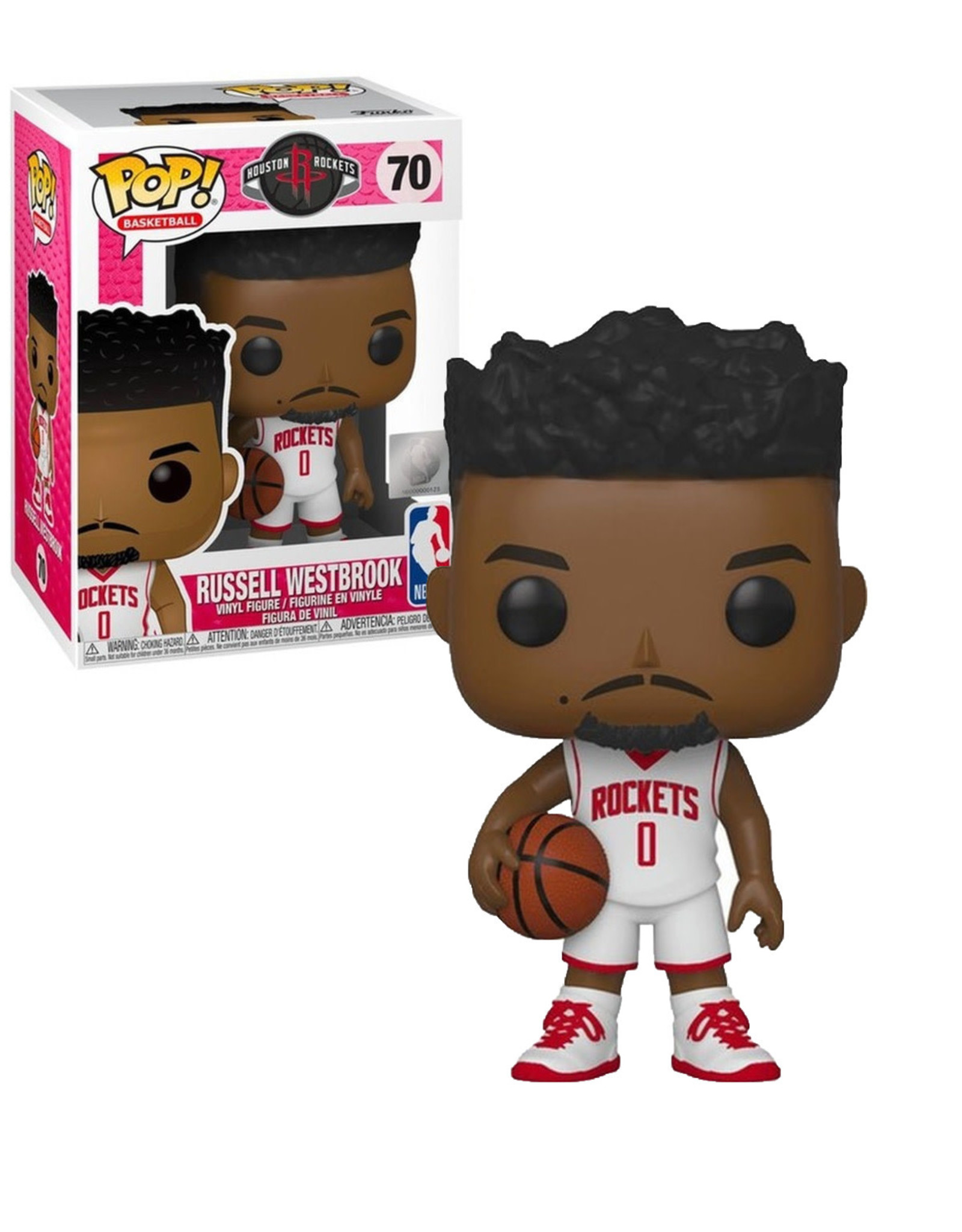NBA Clippers 70 ( Funko Pop ) Russell Westbrook