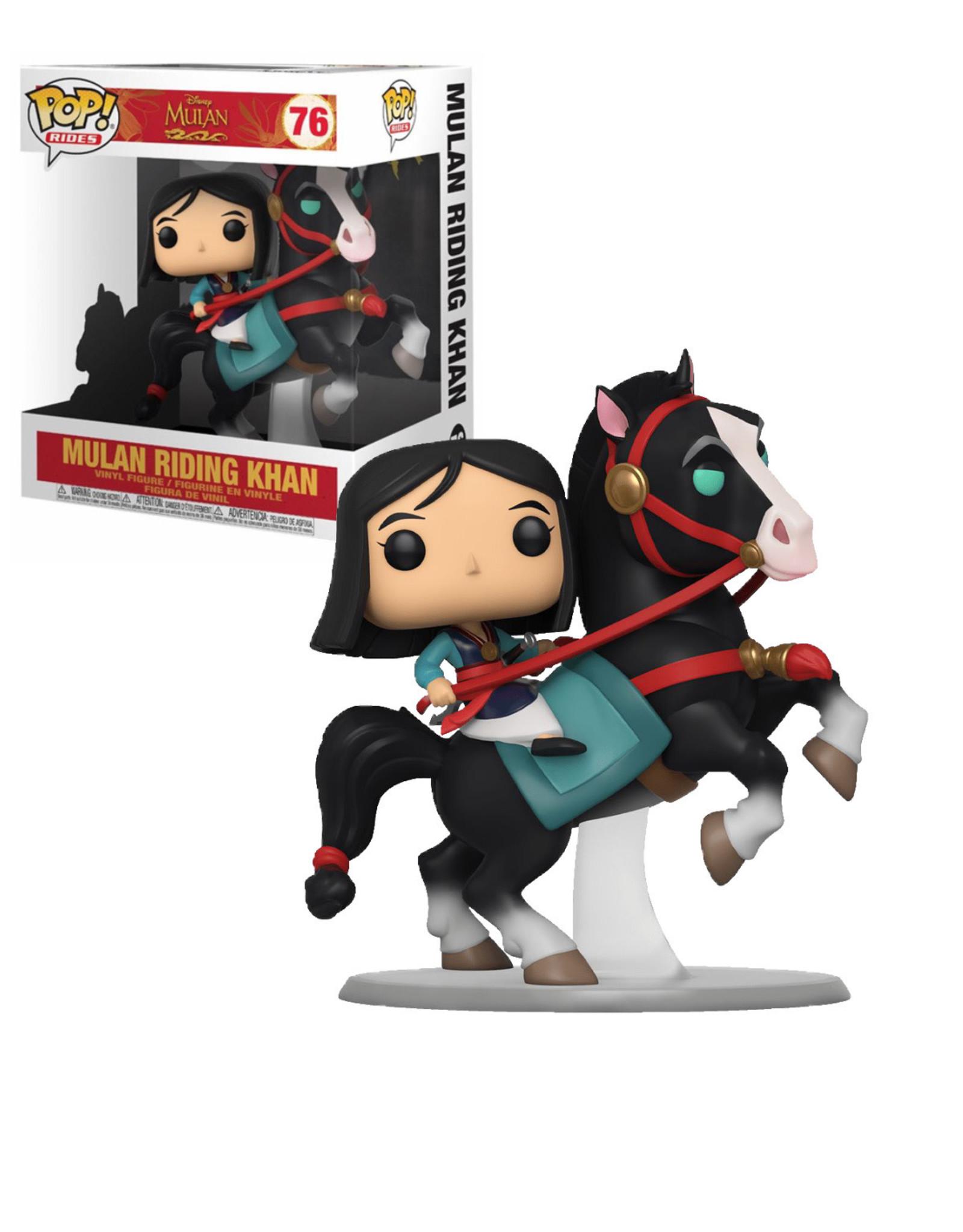 Disney Mulan 76 ( Funko Pop ) Mulan Riding Khan