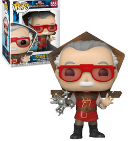 Marvel Thor Ragnarok 655 ( Funko Pop ) Stan Lee