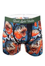 Boxeur ( Good Luck Undies ) Piranhas