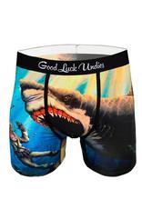 Boxer ( Good Luck Undies ) Shark Attack